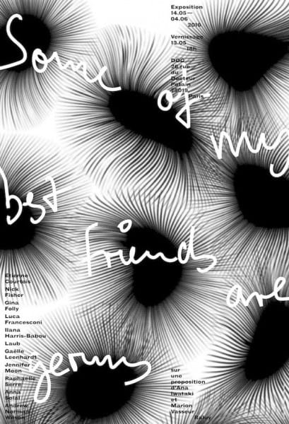 affiche-expostion-some-of-my-best-friends-are-germs