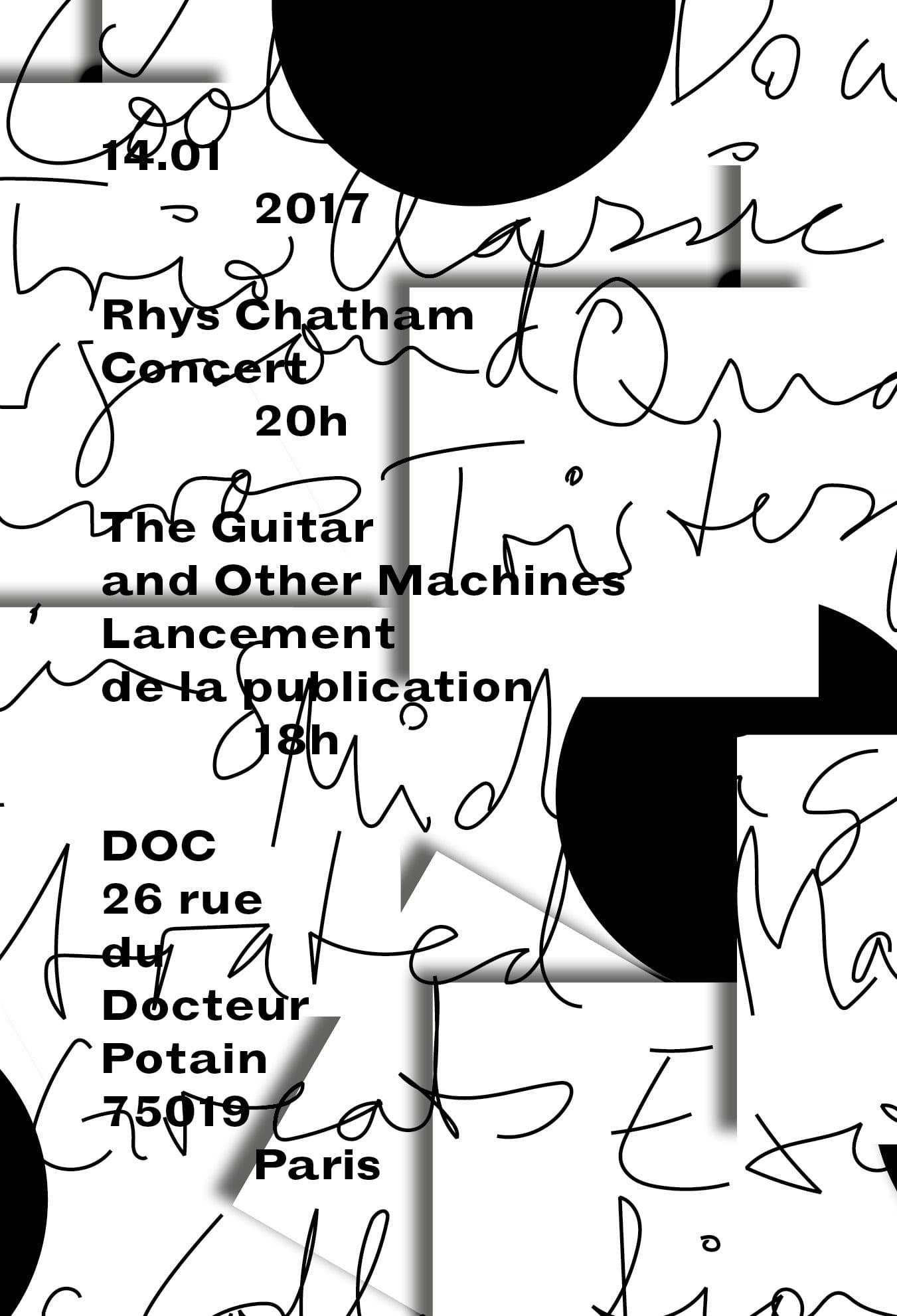 Concert - Rhys Chattham