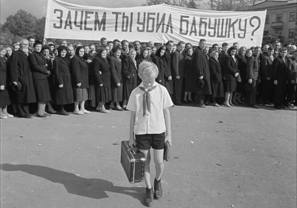 Soyez les bienvenu.e.s (E. Klimov, 1964)