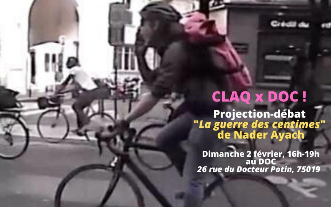 CLAQ x DOC! Ciné-club: La guerre des Centimes de Nader Ayach