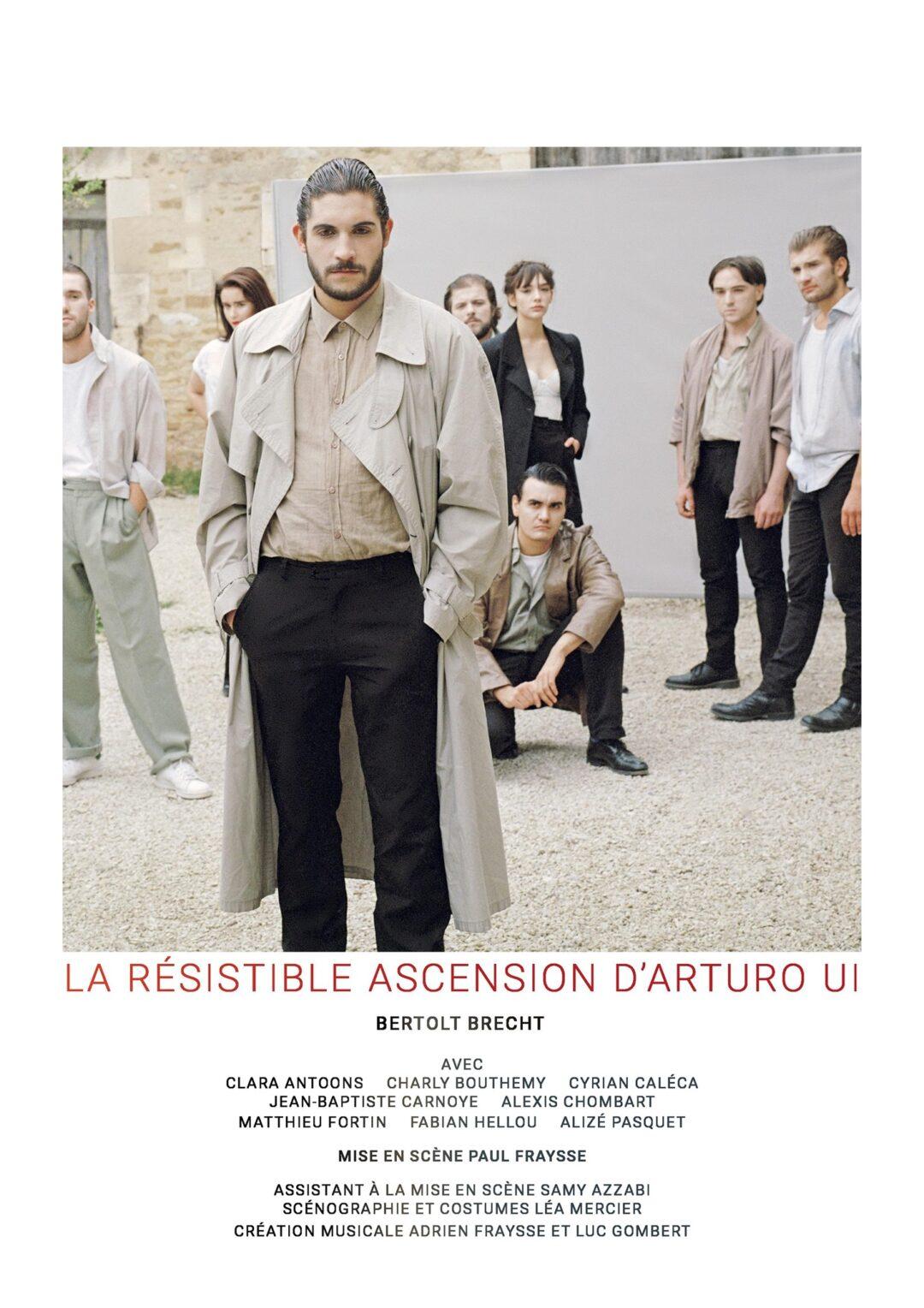 Résidence Théâtre: La Résistible Ascension d'Arturo Ui / Bertolt Brecht