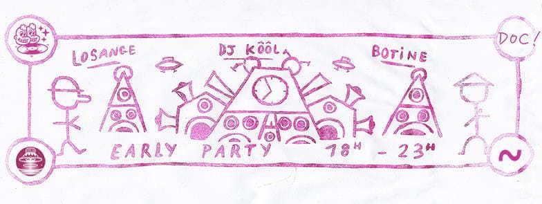 affiche-concert-johnkool-early-party