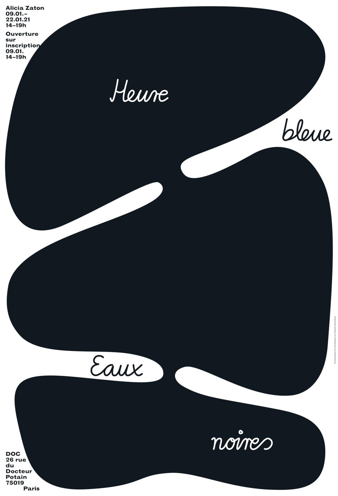 Heure Bleue Eaux Noires – Exposition d'Alicia Zaton