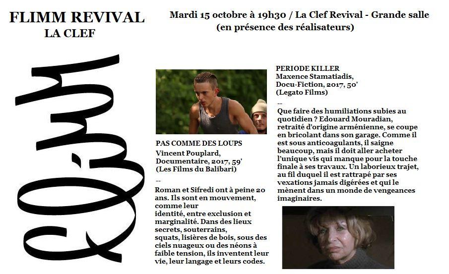 FLiMM Revival – Au Cinéma La Clef