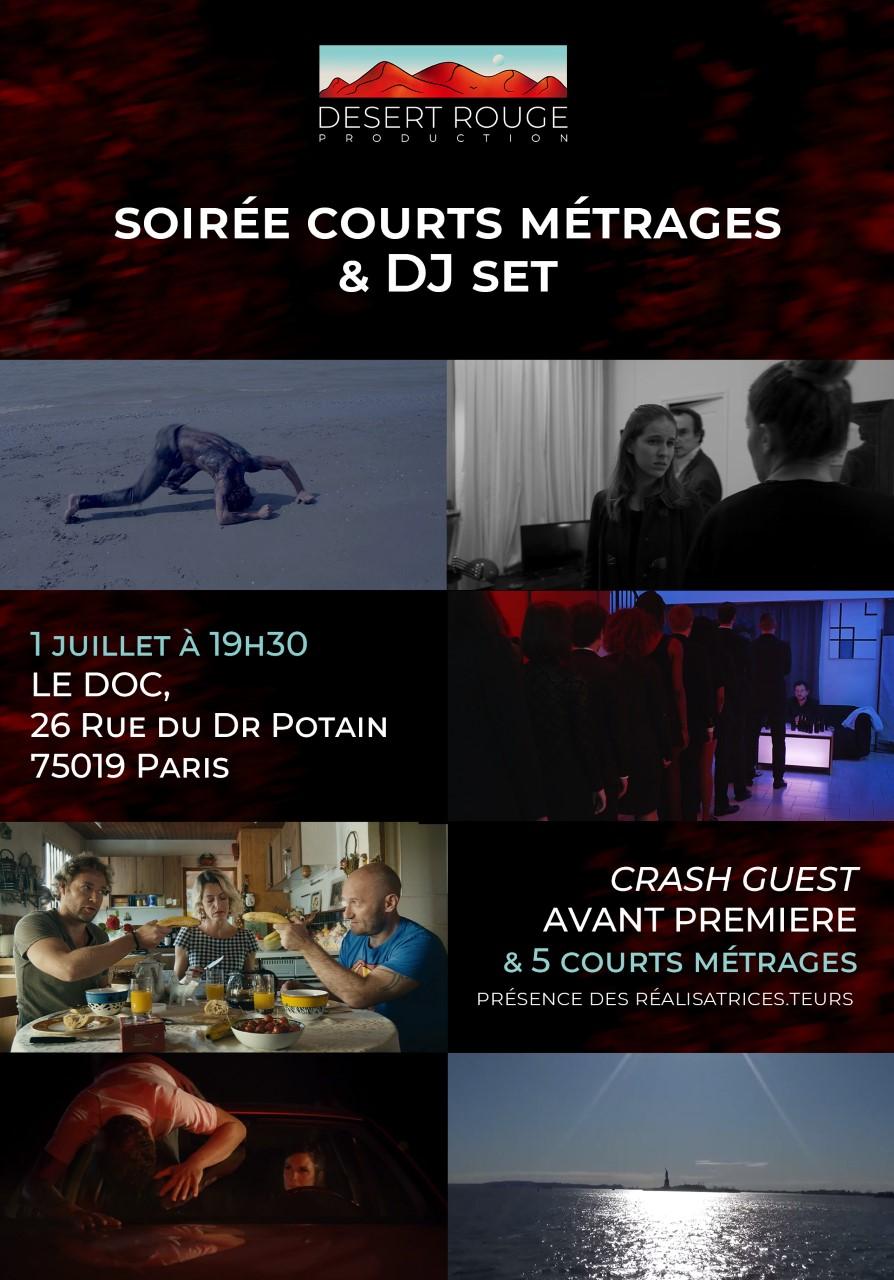Soirée Court-Métrages et Dj Set