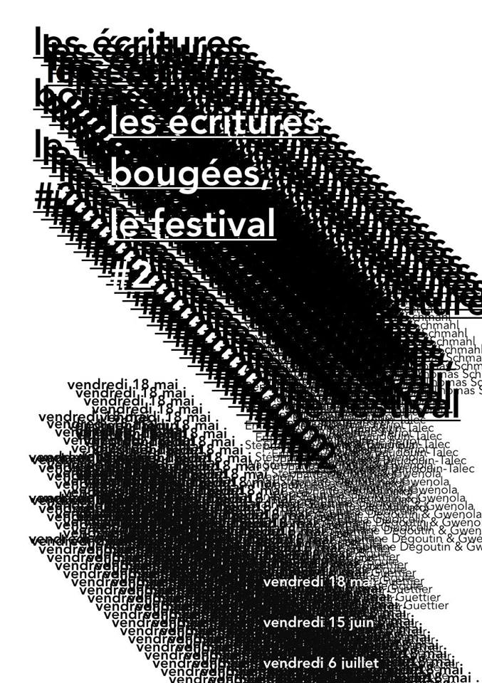 les ecritures bougees